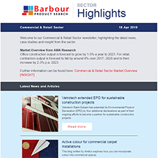 Commercial & Retail Sector Highlights | Latest insight, articles and more