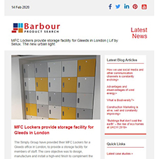 MFC Lockers provide storage facility for Gleeds in London |  Lif by Selux. The new urban light