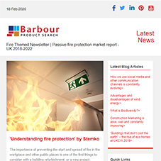 Fire Themed Newsletter | Passive fire protection market report - UK 2018-2022
