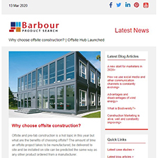 Why choose offsite construction? | Offsite Themed Newsletter