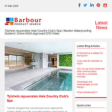 Tylohelo rejuvenates Hale Country Club's Spa | Newton Waterproofing Systems' Online RIBA-Approved CPD Video