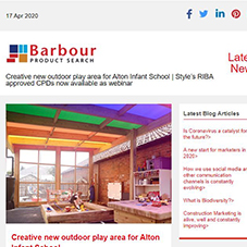Creative new outdoor play area for Alton Infant School |  Style's RIBA approved CPDs now available as webinar