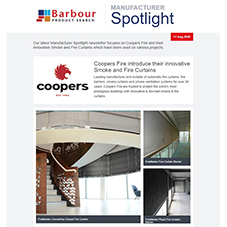 Manufacturer Spotlight | Innovative Smoke and Fire Curtain solutions from Coopers Fire