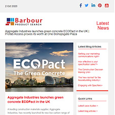 Aggregate Industries launches green concrete ECOPact in the UK |  Profab Access proves its worth at One Bishopsgate Plaza