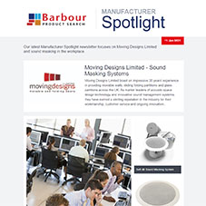 Manufacturer Spotlight | Moving Designs Limited - Sound Masking in the Workplace