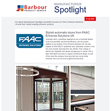 Manufacturer Spotlight | Design led innovation from FAAC Entrance Solutions UK