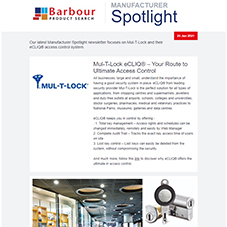 Manufacturer Spotlight | eCLIQ from Mul-T-Lock