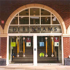 System 2000 products chosen for Debenhams