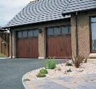 Luxury housing development, near Elgin, Scotland