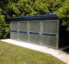Secure Cycle Storage, Totally Enclosed Shelters - Type ST1