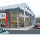 Toyota garage, Hastings, East Sussex