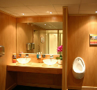 IGLOOS delivers a luxury changing and washroom facility