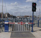 FAAC Barriers Installed at the Busy Entrance to a Marina