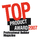 Professional Builder Top Product of 2007