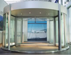 New revolving door system with intruder/object detection enhances airport safety