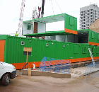 City centre development, Coventry. Supply of a 17-bay, two-storey, vandal-proof AVflex™ modular system.