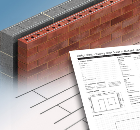 Launch of new product and an accompanying design service. Ancon AMR Masonry Reinforcement
