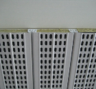 Noise a problem? Residentiel Vinyl Cladding have a new anti-noise baffle panel