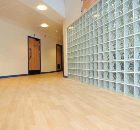 Lambeth Academy corridors are stylish, safe and quiet
