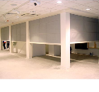 Fire curtains, Retail Development