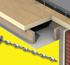 Staifix Super-8 Helical Nails for Flat Roofs