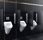 Geberit maximises water efficiency and design in washrooms with new infra-red urinal controls