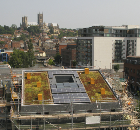 Schueco Photovoltaic Modules Installed in University's New-Build Business Start-Up Project