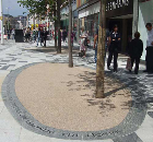 Permeable Resin-Bound Paving