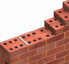 Masonry Reinforcement for Collar-Jointed Walls