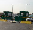 Europcar, airport car hire depot