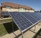 Schueco Photovolatic Array for Retirement Development