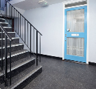 Tarkett Tiles Provide a Dramatic Entrance at Manor Park