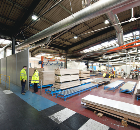 Troax Creates Showcase Production Area For Worktop Manufacturer Bushboard