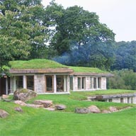 Rhepanol a natural choice for green roof  of RIBA award winning Dartmoor idyll