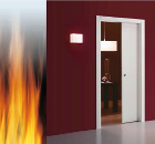 A new 30 minute FIRE-RATED sliding door system