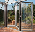 Schueco Folding/Sliding Door Proves to be a Winner