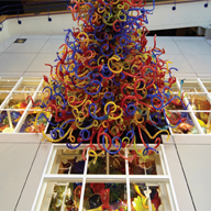 The Children's Museum of Indianapolis, Chihuly Sculpture Platform, Indianapolis, Indiana
