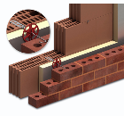Ancon Two-Part Wall Tie for Cellular Clay Blockwork