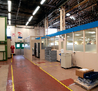 Troax Partitioning Creates New Production Areas for Leading Computer Manufacturer's New Facility