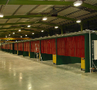 Troax Steel Partitioning Creates Welding Booths for Machine Tool Manufacturer Yamazaki Mazak