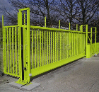 Frontier Pitts Security Gate Safety