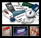 INTERSIGN interior and exterior signage systems