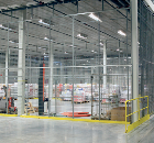 Troax wire mesh partitioning creates secure storage facility for Imperial Tobacco