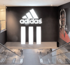 Adidas Performance Store, Paris.