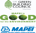 Mapei becomes a member of the UK's Green Building Council (UK-GBC)