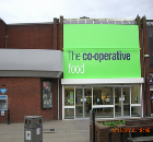 Erdington and Oakham Co-Operative Food Stores in the Midlands