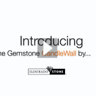 Gemstone CandleWall by Eldorado Stone Video offered by Century Stone