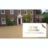 Ronacrete resin paving system offers 15 year guarantee