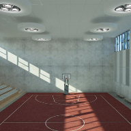 The New VertiQ Wall Absorbers From Rockfon, Designed For Installation In Schools And Sporting Venues