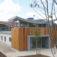 Alu Timber Windows, Doors,Framing & Curtain Walling Were Used At Staple Hill Primary School, Bristol